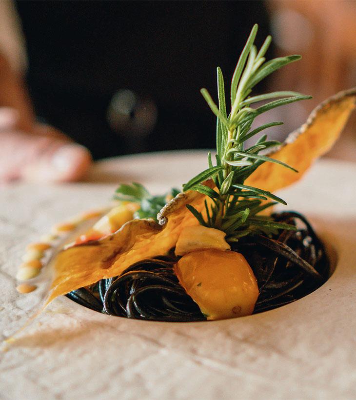 Pasta Nero di Seppia