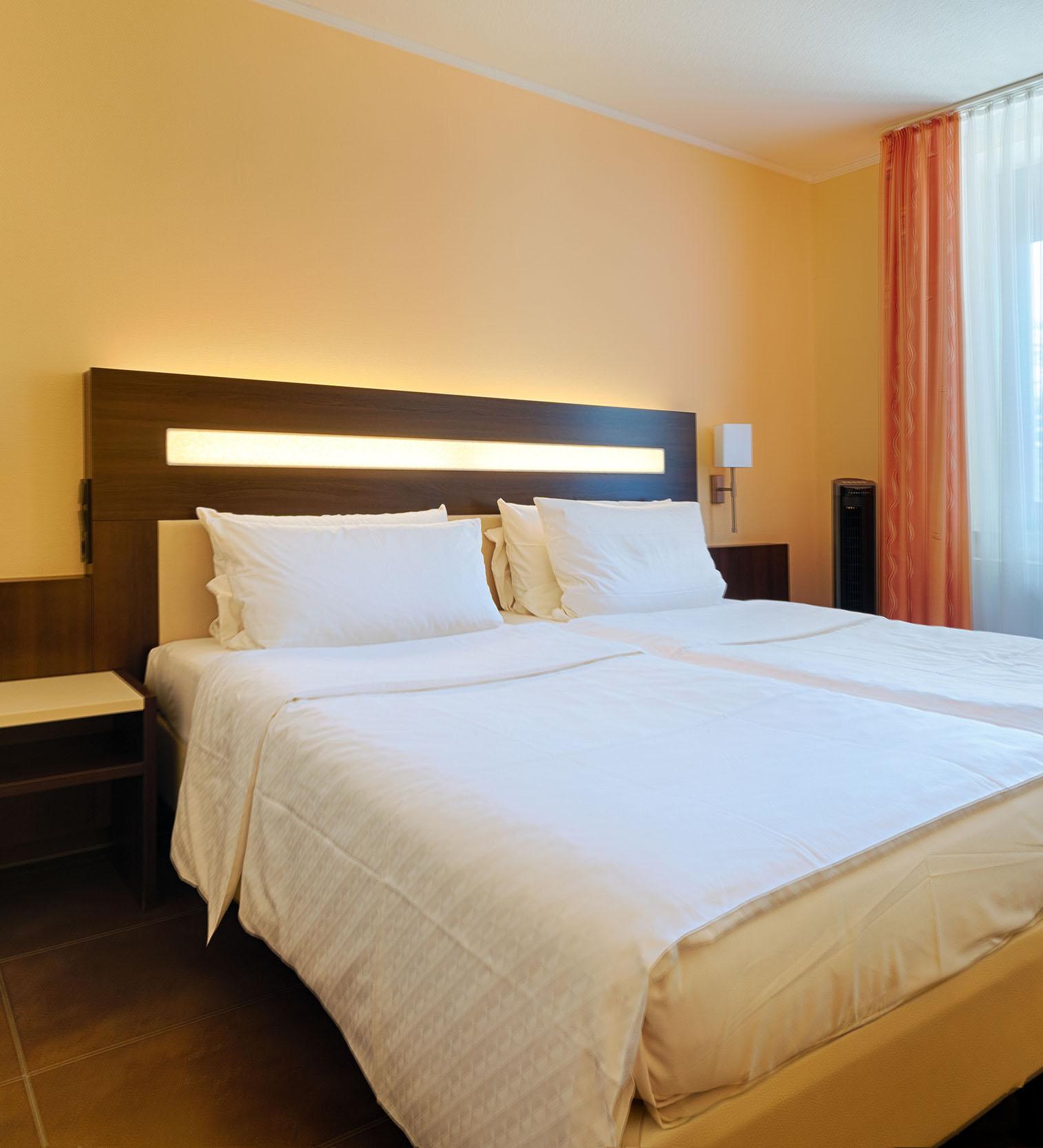 Doppelbett Doppelzimmer